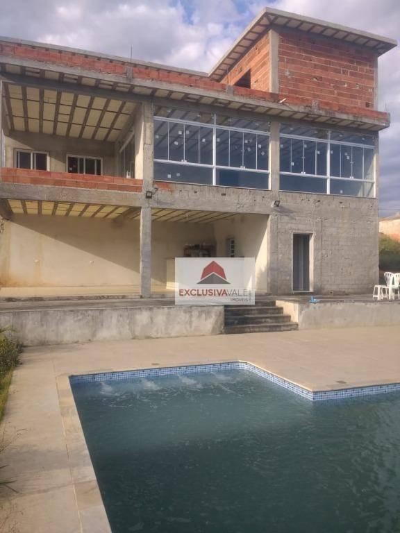 casa com 4 dormitórios à venda, 450 m² por r$ 699.000 - caçapava velha - caçapava/sp - ca0456