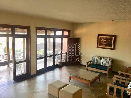 casa com 4 dormitórios à venda, 450 m² por r$ 850.000 - piratininga - niterói/rj - ca0533