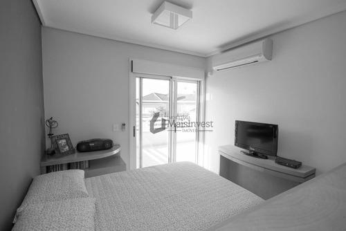 casa com 4 dormitórios à venda, 467 m² - alphaville graciosa - pinhais/pr - ca0056