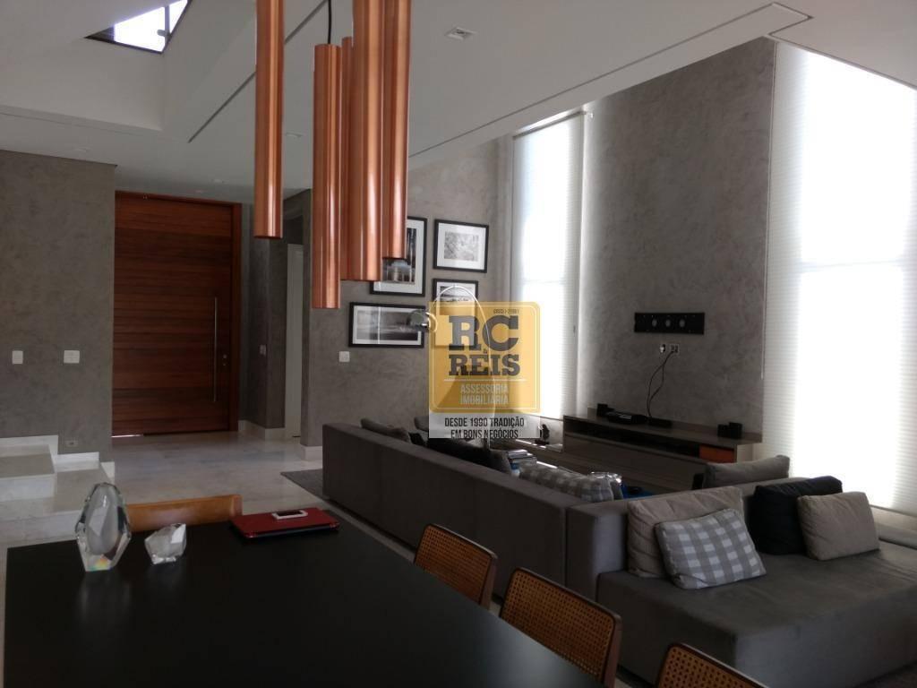 casa com 4 dormitórios à venda, 480 m² por r$ 3.450.000,00 - tamboré 10 - santana de parnaíba/sp - ca2485