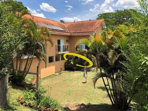 casa com 4 dormitórios à venda, 500 m² por r$ 1.000.000,00 - paisagem renoir - cotia/sp - ca4467