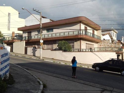 casa com 4 dormitórios à venda, 500 m² por r$ 1.190.000 - jardim pilar - mauá/sp - ca1593