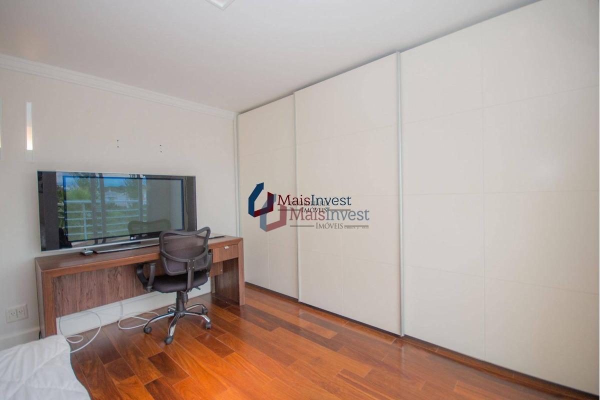 casa com 4 dormitórios à venda, 540 m² por r$ 2.700.000,00 - alphaville graciosa - pinhais/pr - ca0017