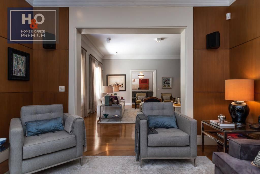 casa com 4 dormitórios à venda, 545 m² por r$ 8.500.000 - jardim guedala - são paulo/sp - ca0054