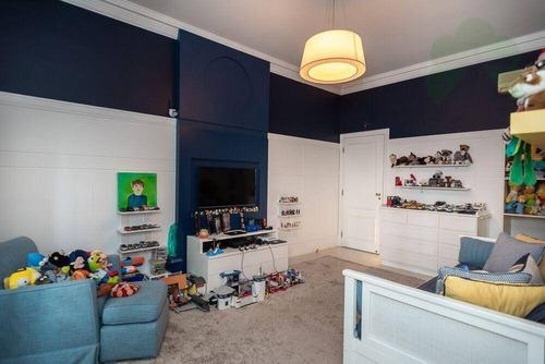 casa com 4 dormitórios à venda, 545 m² por r$ 8.500.000 - jardim guedala - são paulo/sp - ca0137