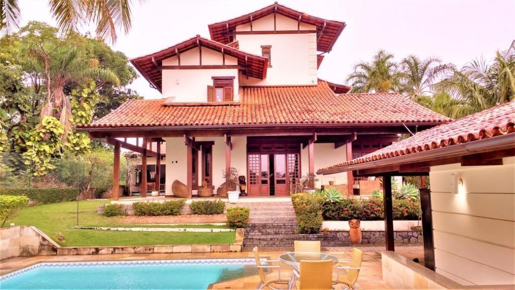 casa com 4 dormitórios à venda, 550 m² por r$ 2.500.000,00 - camboinhas - niterói/rj - ca0352