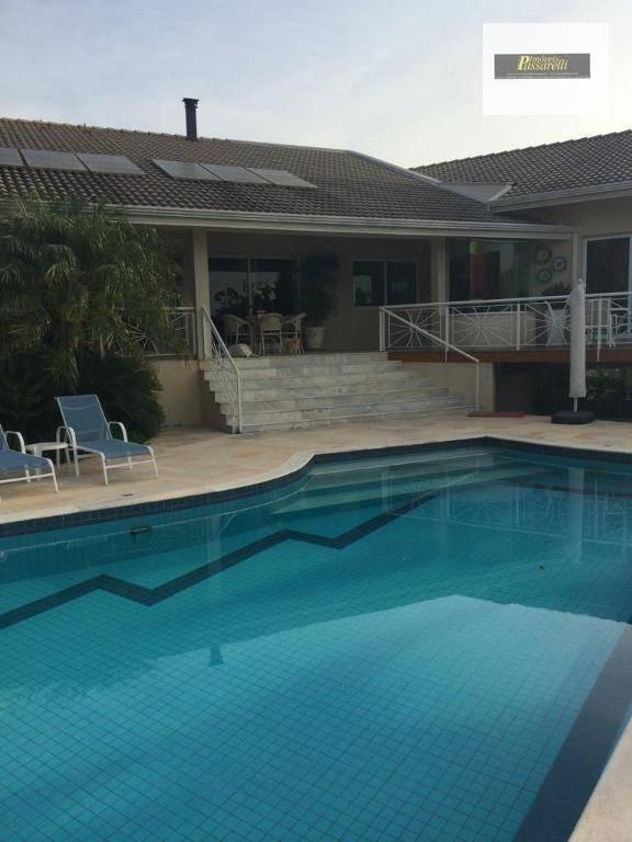casa com 4 dormitórios à venda, 550 m² por r$ 3.200.000 - condomínio são joaquim - vinhedo/sp - ca2367