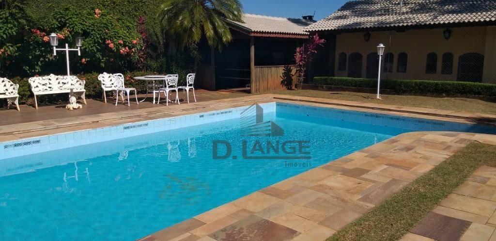 casa com 4 dormitórios à venda, 577 m² por r$ 2.500.000 - parque taquaral - campinas/sp - ca13146