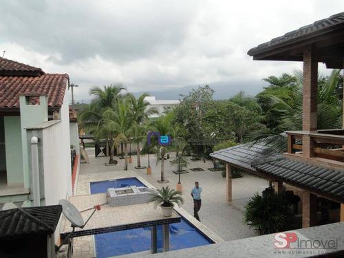 casa com 4 dormitórios à venda, 580 m² por r$ 1.200.000 - boracéia - bertioga/sp - ca0485