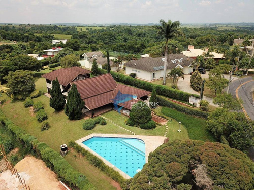 casa com 4 dormitórios à venda, 580 m² por r$ 2.450.000 - fazenda vila real de itu - itu/sp - ca0042