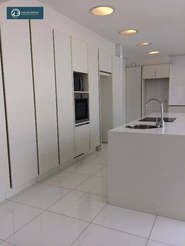 casa com 4 dormitórios à venda, 598 m² por r$ 7.980.000,00 - alto de pinheiros - são paulo/sp - ca2640