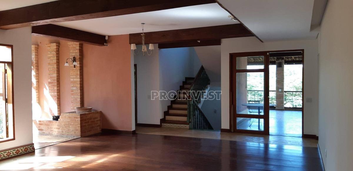 casa com 4 dormitórios à venda, 600 m² por r$ 2.700.000,00 - vintage - cotia/sp - ca5103