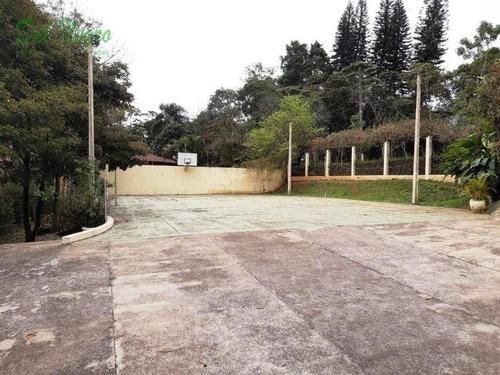 casa com 4 dormitórios à venda, 603 m² - paisagem renoir i, granja viana. - ca1829
