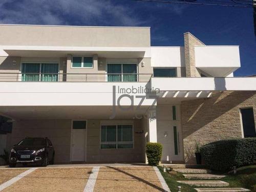 casa com 4 dormitórios à venda, 607 m² por r$ 2.350.000 - swiss park - campinas/sp - ca5255