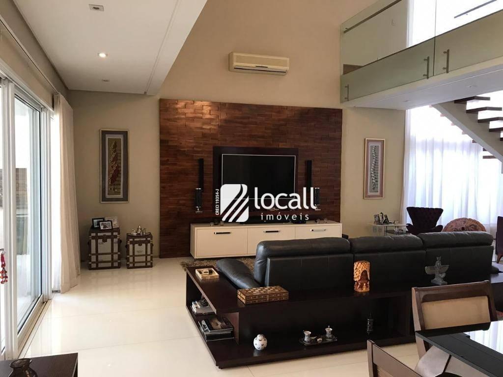 casa com 4 dormitórios à venda, 700 m² por r$ 3.500.000 - village flamboyant - são josé do rio preto/sp - ca2135