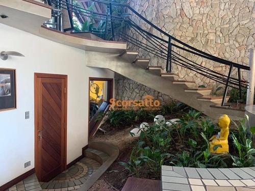 casa com 4 dormitórios à venda, 700 m² por r$ 4.500.000 - royal park - itapecerica da serra/sp - ca1652
