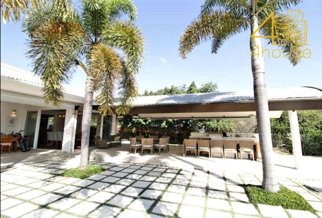 casa com 4 dormitórios à venda, 710 m² por r$ 4.500.000 - fazenda vila real de itu - itu/sp - ca0336