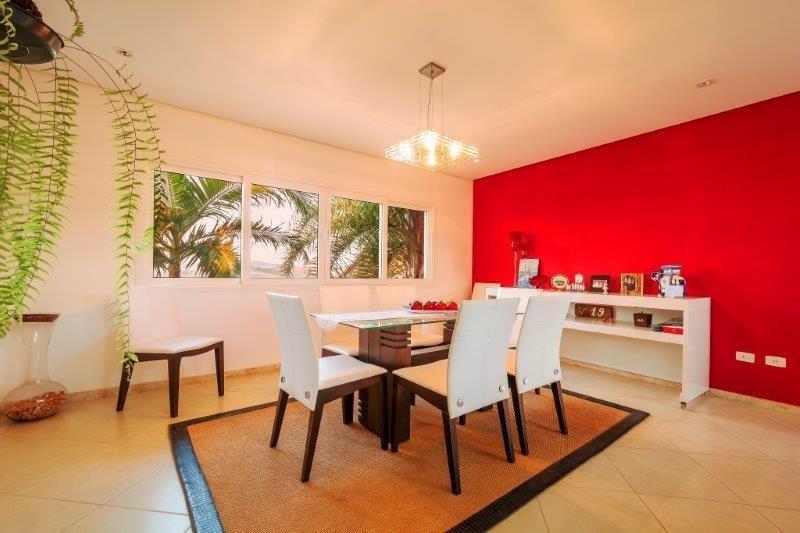 casa com 4 dormitórios à venda, 748 m² por r$ 3.300.000 - vila santista - atibaia/sp - ca0436