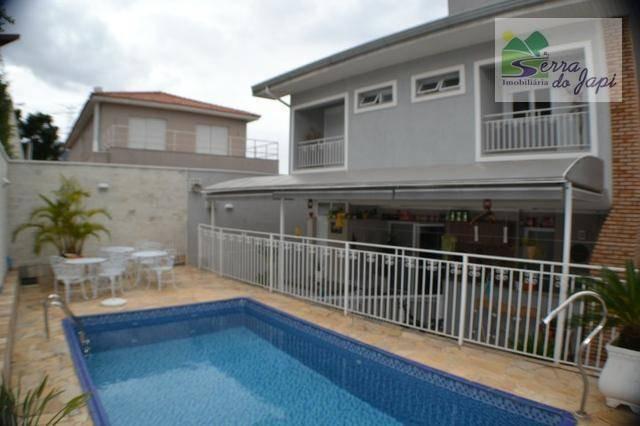 casa com 4 dormitórios à venda, cond. reserva da serra, 298 m² por r$ 1.500.000,00- medeiros - jundiaí/sp - ca1829