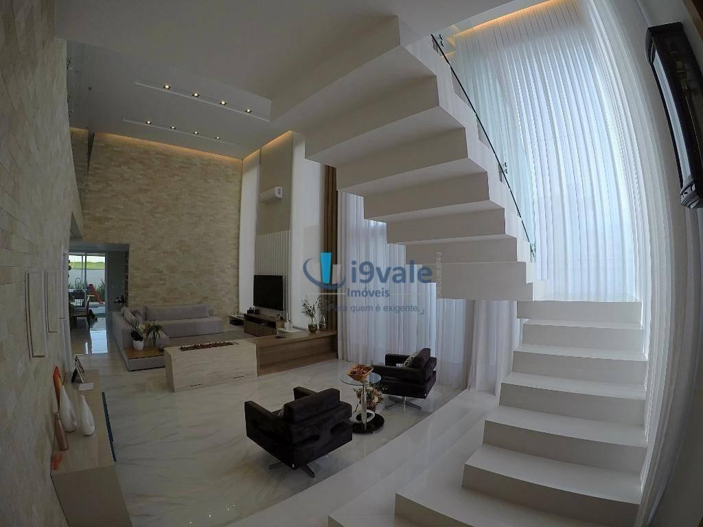 casa com 4 dormitórios à venda, condomínio residencial alphaville - são josé dos campos/sp - ca1053