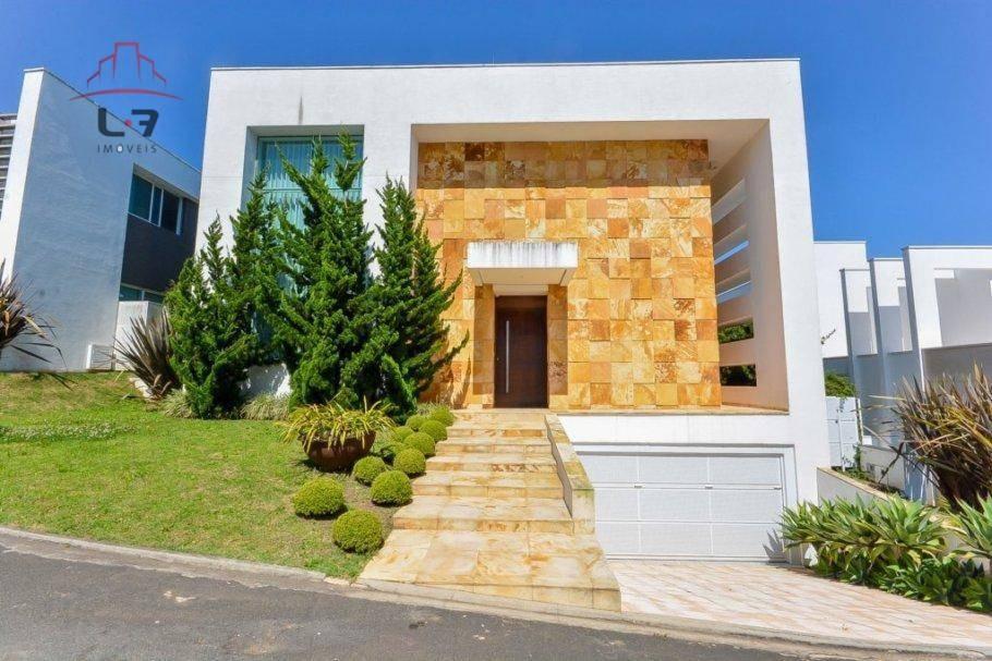 casa com 4 dormitórios à venda e locação, 502 m² por r$ 3.300.000 - campo comprido - curitiba/pr - ca0087