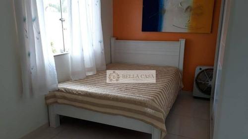 casa com 4 dormitórios à venda por r$ 600.000 - ponte dos leites - araruama/rj - ca0160