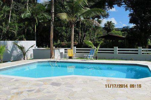 casa com 4 dorms, praia dura, ubatuba - r$ 1.800.000,00, 330m² - codigo: 708 - v708