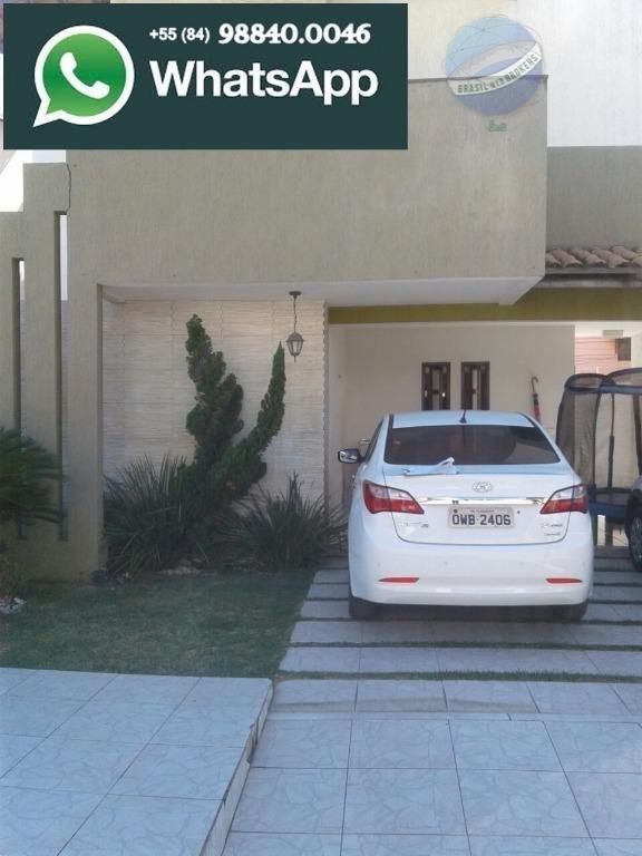 casa com 4 quartos, sendo 3 suítes, em ótima região de neópolis - ca0070