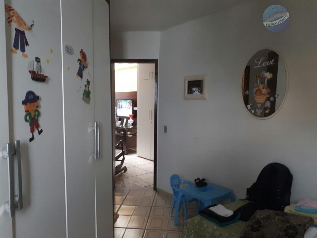 casa com 4 suítes em capim macio, pertinho do hiper bompreço e facex - ca0054