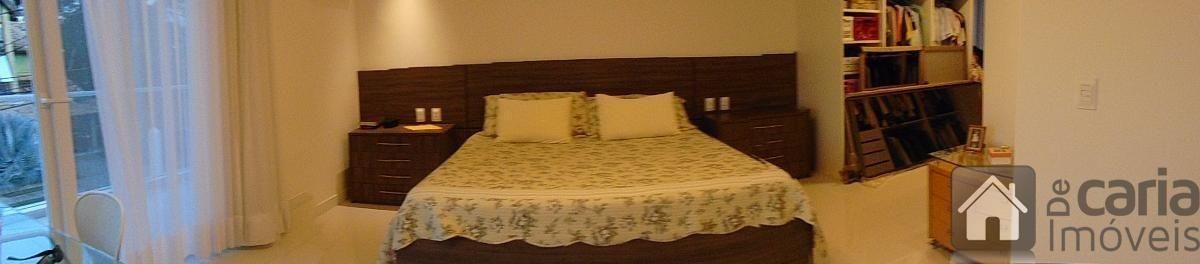 casa com 4 suítes, sala com pé direito triplo em alphaville - 653
