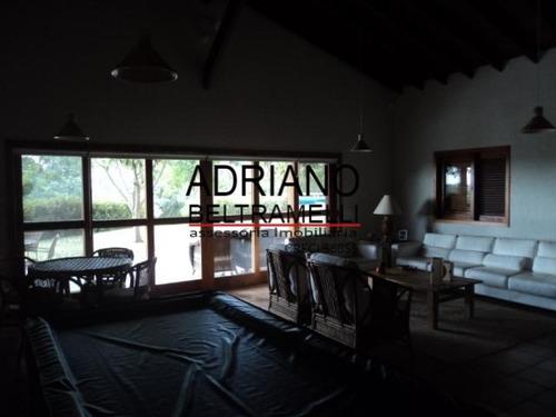 casa com 4 suítes  - térrea - condomínio - ca0147