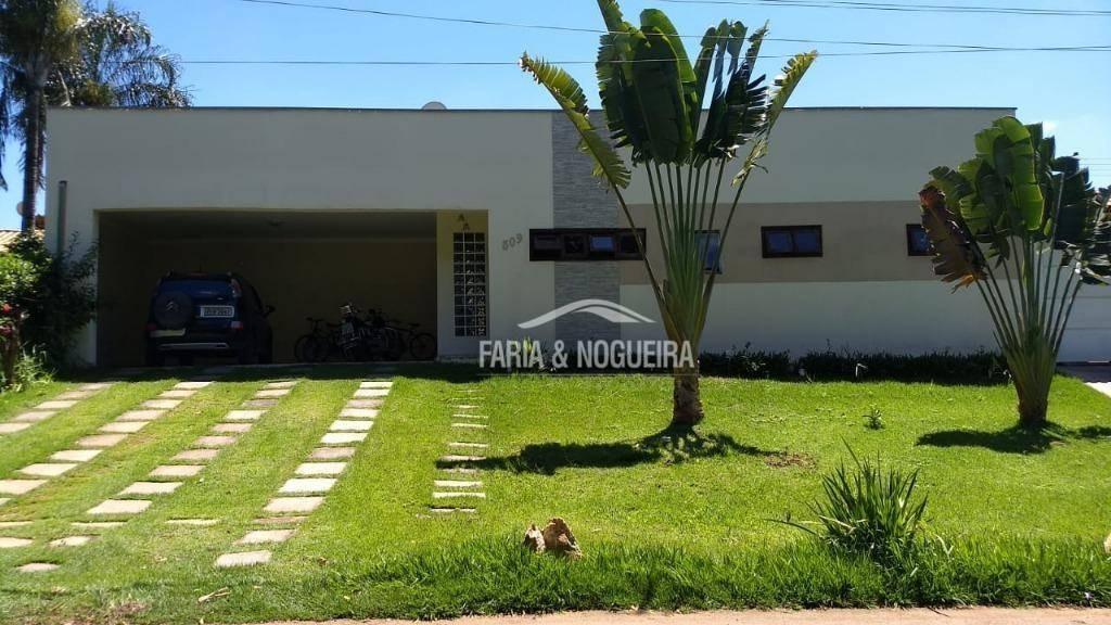 casa com 4 suítes à venda, 238 m² por r$ 750.000 - residencial florença - rio claro/sp - ca0442