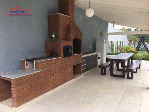 casa com 4 suites à venda, 500 m² por r$ 1.400.000 - jardim santos reis - piracaia/sp - ca3520