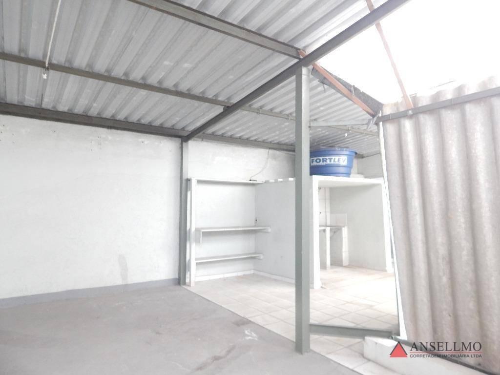 casa com 5 dormitórios para alugar, 400 m² por r$ 12.000,00/mês - centro - são bernardo do campo/sp - ca0455