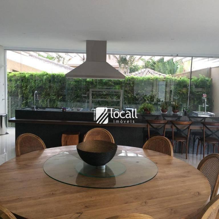 casa com 5 dormitórios à venda, 1400 m² por r$ 8.700.000,00 - parque residencial damha - são josé do rio preto/sp - ca2120