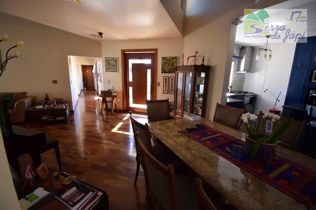 casa com 5 dormitórios à venda, 300 m² por r$ 1.400.000 - loteamento capital ville - jundiaí/sp - ca2070