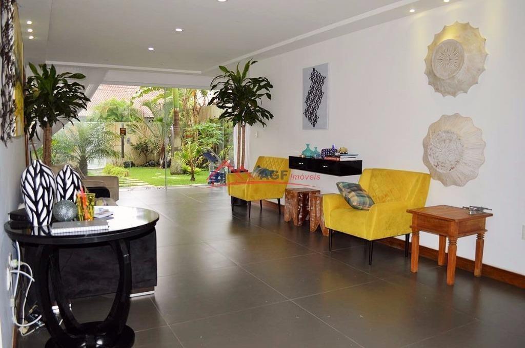 casa com 5 dormitórios à venda, 300 m² por r$ 2.500.000,00 - itacoatiara - niterói/rj - ca0181