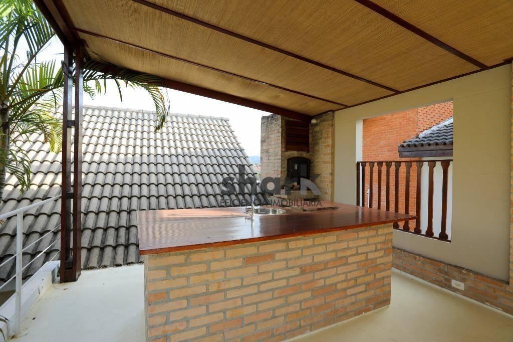 casa com 5 dormitórios à venda, 380 m² por r$ 2.400.000,00 - alphaville residencial 10 - santana de parnaíba/sp - ca0053