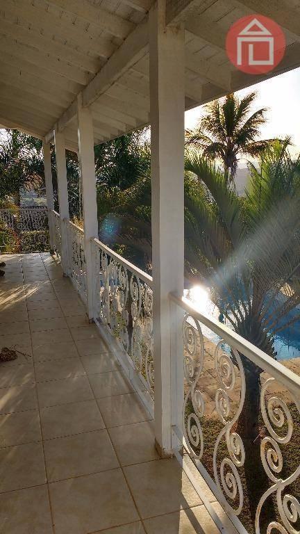 casa com 5 dormitórios à venda, 400 m² por r$ 1.500.000,00 - condomínio jardim das palmeiras - bragança paulista/sp - ca0883