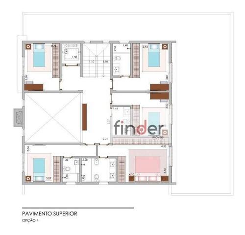 casa com 5 dormitórios à venda, 432 m², com piscina e jardim privativo - alto da boa vista - são paulo/sp - ca0818