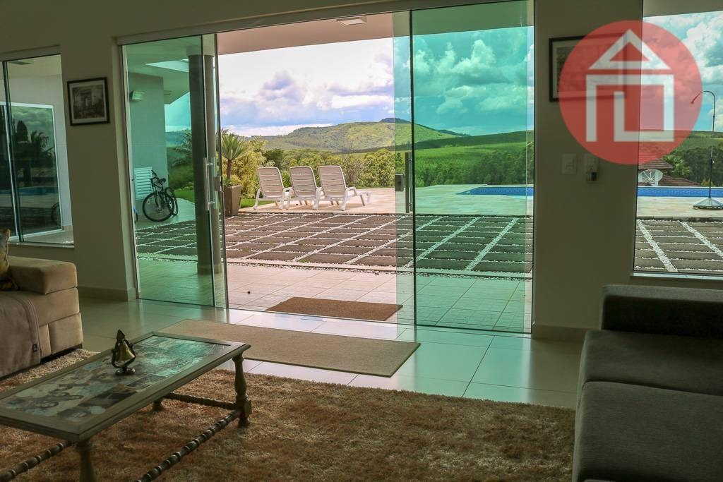 casa com 5 dormitórios à venda, 450 m² por r$ 2.500.000 - condomínio jardim das palmeiras - bragança paulista/sp - ca2438