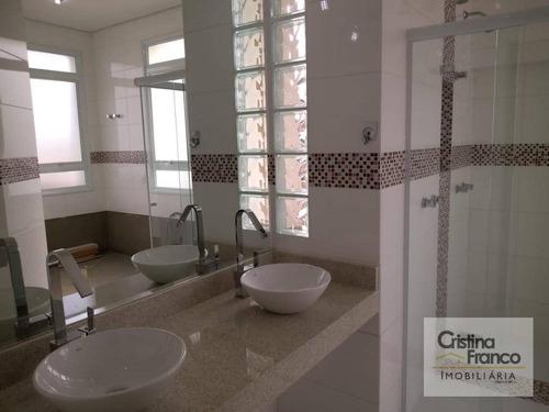 casa com 5 dormitórios à venda, 500 m² por r$ 1.750.000 - condomínio haras pindorama - cabreúva/sp - ca2232