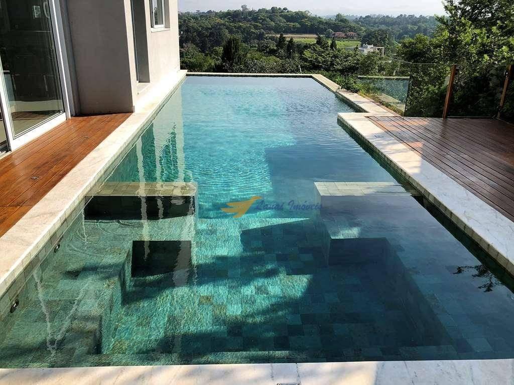 casa com 5 dormitórios à venda, 512 m² por r$ 4.350.000 - chácara dos lagos - carapicuíba/sp - ca0337