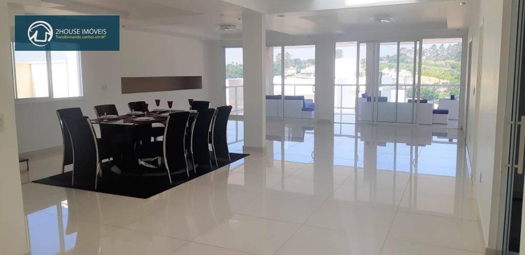 casa com 5 dormitórios à venda, 550 m² por r$ 3.050.000 - condomínio reserva da serra - jundiaí/sp - ca3352