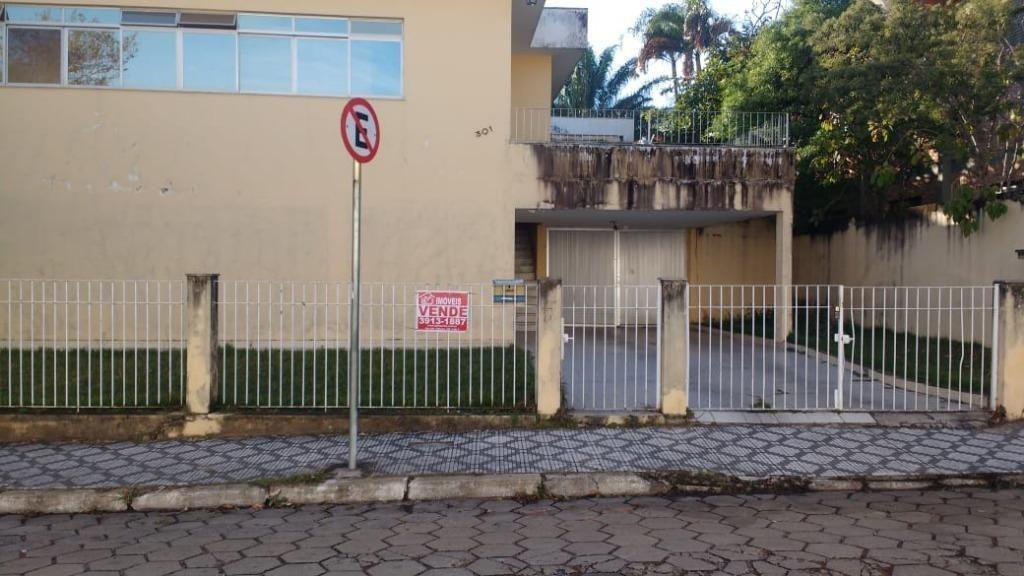 casa com 5 dormitórios à venda, 585 m² por r$ 1.300.000 - vila são joão - caçapava/sp - ca1018