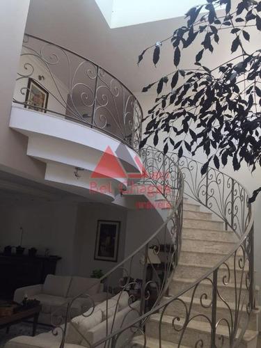 casa com 5 dormitórios à venda, 600 m² por r$ 3.500.000 - condomínio lago azul - araçoiaba da serra/sp - ca0227
