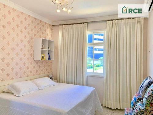 casa com 5 dormitórios à venda por r$ 3.500.000 - candelária - natal/rn - ca0127