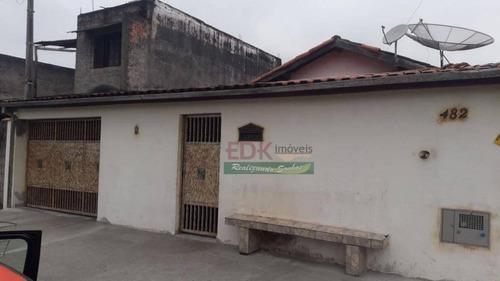 casa com 5 dormitórios à venda por r$ 450.000,00 - cidade nova - pindamonhangaba/sp - ca2310