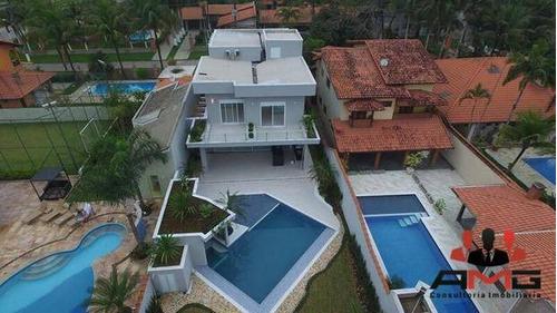 casa com 5 suítes morada da praia - boraceia - ca0237