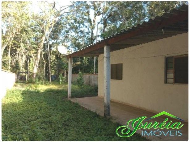 casa com 500 m² de terreno,escriturado no guaraú. peruíbe/sp